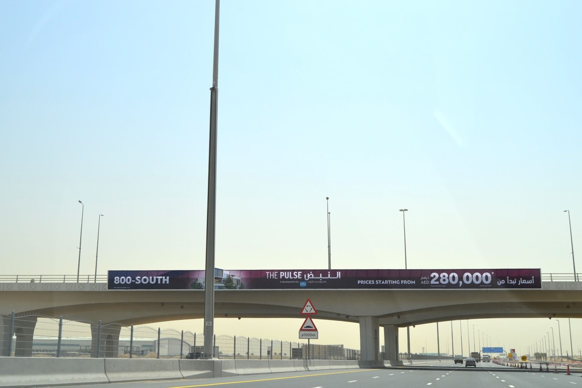 Dubai South Bridge Mohammad bin zayed Road– Face A