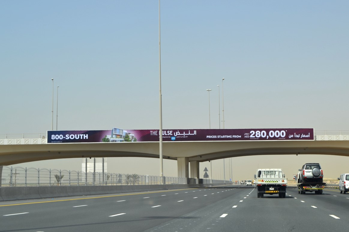 Dubai South Bridge Mohammad bin zayed Road– Face B